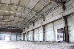 Frameworks for fakhverkovy buildings reinforced