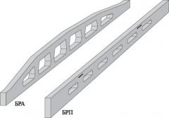 Beams are reinforced concrete, concrete goods,