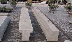 Beams are socle reinforced concrete, concrete