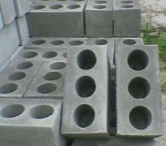 Blocks are wall reinforced concrete, ...