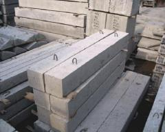 Blocks are reinforced concrete, concrete goods,