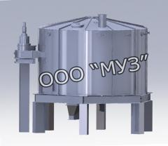Extractor of the carousel type for the oil and fat