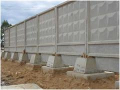 Blocks for a fence reinforced concrete, concrete goods, ZhBK