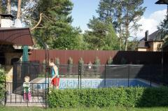 Universal fence for home and garden Shield
