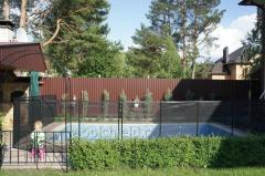 Shield fence for children, height 120 cm