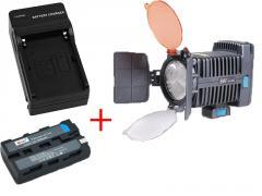 Light-emitting diode nakamerny video light of