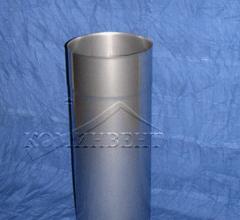 Труба одностенная дымовая L = 333 мм