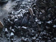 Charcoal for braziers, grills and a barbecue