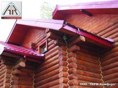 Heating of roofs, roofs, end (cable strong A.Rak