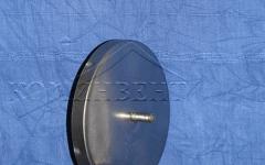 Конденсатоотвод (лейка)  для отвода наружу накапливающегося в дымоходе конденсата или дождевой воды, материал : Сталь нж AISI 316 ( 14401 )