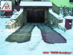 Обогрев тротуарных дорожек, Кабель нагревательный двужильный A.Rak SIPC 6109-30