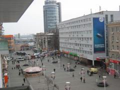 Европейская площадь – пр. К. Маркса. Центр города
