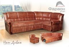 Sets of upholstered furniture of cues, upholstered