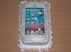 Торты детские - торт телефон , торт подарок