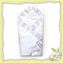 Конверт-плед для новорожденных, конверты для