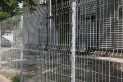 3D fence: section 1.5x2m, Ø4mm, galvanized, wire