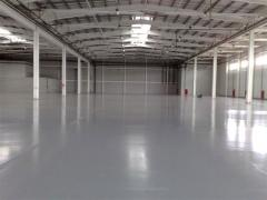 Floors are industrial polymeric