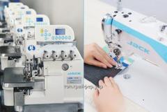 Швейне обладнання /промислові швейні машини, оверлоки, двигуни та інш.