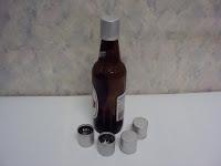 Cap stopper aluminum, Ukraine