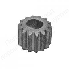 Gear wheels and details from metal powders for