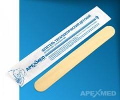 Шпатель терапевтический деревянный APEXMED