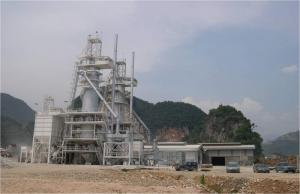 Furnaces limes, mine for production. Mining