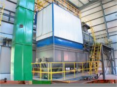 Lines limes, crushing and sorting for production,