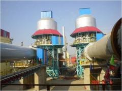 Equipment complex on production of lime, crushing