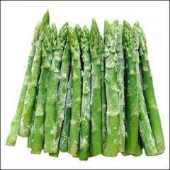 The asparagus packaged Poland