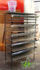 Quail cage for gathering egg incubatory five-level