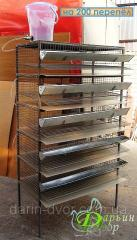 Cage for gathering dietary egg quail five-level