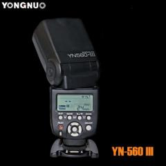 Flash of Yongnuo yn-560III with the built-in
