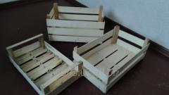 Деревянные ящики из шпона для винограда в Крыму