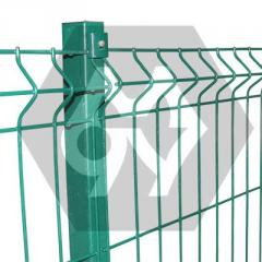 Metal fence of TM of the Cossack from wire