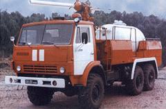 Автомобиль порошкового тушения АП-4(43105) модель