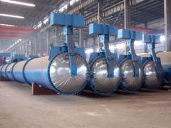 Autoclaves. Autoclaves for industrial construction