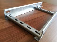 Ladder tray, welded, rivet, PG, EG, HDG,