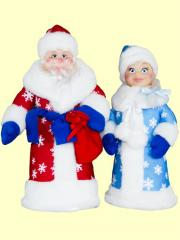 Father Frost and Snegurka