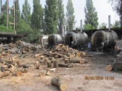 Odun kömürü yapma tesisler (kömür yapma fırınları)