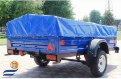 Trailers cargo KRKZ-100, KRKZ-150, KRKZ-200,