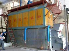 Steam boilers. Industrial solid fuel boilers to