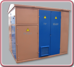 Complete transformer substations ot1,0 to 2500