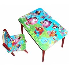 Стол+стул Смешарики