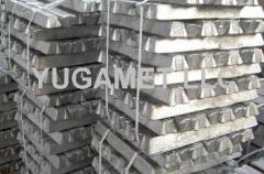 Aluminum alloys in ingots, silumins DIN 1706 EN