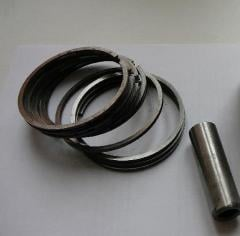 Piston rings to the compressor