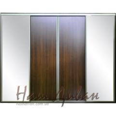 To buy an angular sliding wardrobe of cues,