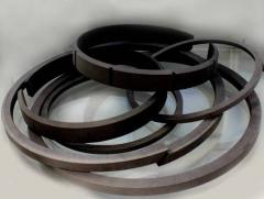 Rings piston for compressors