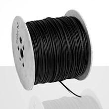 The black Hikra Eco cable (with ultra-violet