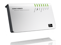 The store of these inverters and SMA sunny Web Box