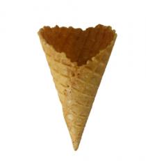 Sweet ice cream cone
